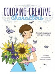 Coloring Creative Characters by Cloth, Paper, Scissors (Jodi Ohl)
