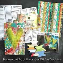Documented Faith DEVOTE - Companion Kit