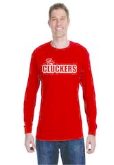 Cluckers Long Sleeve T-Shirt