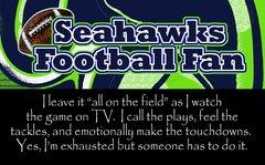 Seahawks Leave Ultimate Fan Sport Board