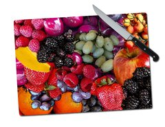 Fruit Tempered Glass Cutting Board