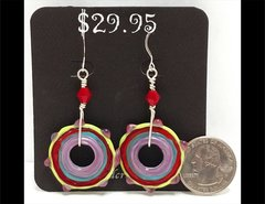 Oh Happy Day Glass Earrings by Heidi Klepper