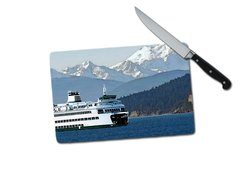 Ferry Small Tempered Glass Cutting Board