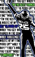 Seahawks Sherman Athlete Sport Board