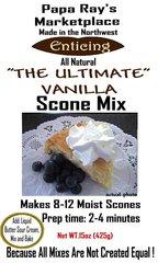 Papa Ray's The Ultimate Vanilla Scone Mix