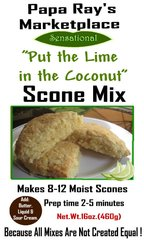 Papa Ray's Put the Lime in the Coconut Scone Mix