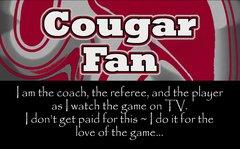 Cougar Coach Ultimate Fan Sport Board