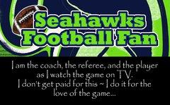 Seahawks Coach Ultimate Fan Sport Board