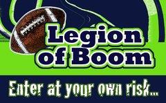 Seahawks Legion Ultimate Fan Sport Board