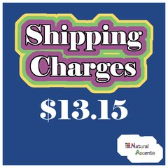 $13.15 Shipping Charges For Your Order Taken At Our Show