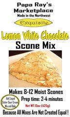 Papa Ray's Lemon White Chocolate Scone Mix