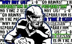 Seahawks Wilson Athlete Sport Board