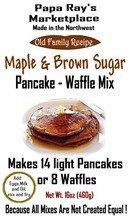 Papa Ray's Maple Brown Sugar Pancake and Waffle Mix