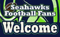 Seahawks Welcome Ultimate Fan Sport Board