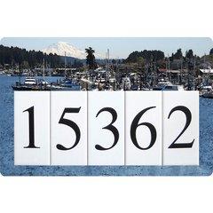 Boat Address Sign Large