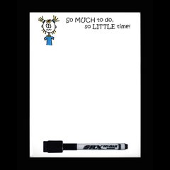 So Much To Do Dry Erase Magnetic Message Board