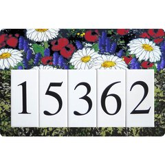 Daisy Address Sign Large