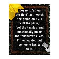 I Leave It Sports Sign