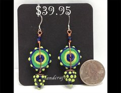 Sassy Me Glass Earrings by Heidi Klepper