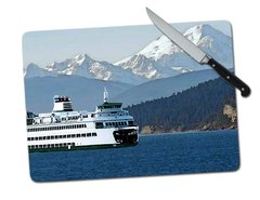 Ferry Large Tempered Glass Cutting Board