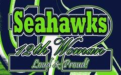 Seahawks 12th Woman Ultimate Fan Sport Board