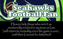 Seahawks Heaven Ultimate Fan Sport Board
