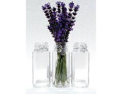 Tall Wire Wrapped HANGING Jar Vase Set of 3