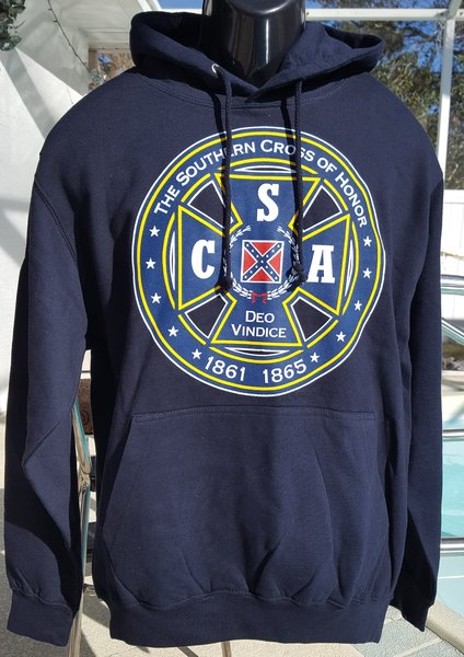 Csa Southern Cross Of Honor Pullover Hooded Sweatshirt