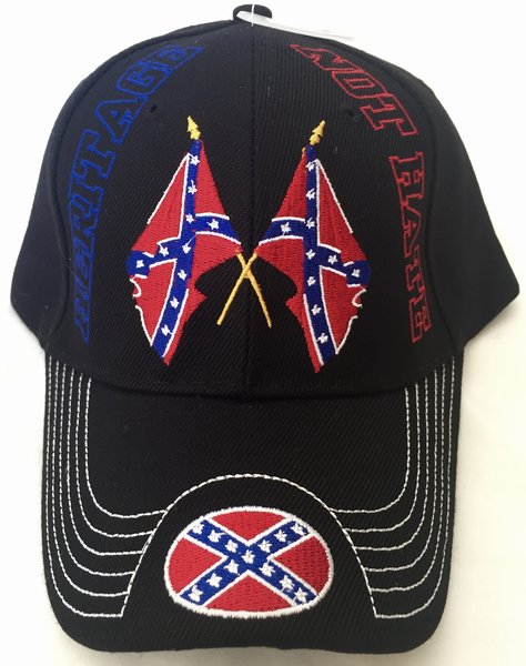 Black Heritage Not Hate Embroidered Baseball Cap Dl