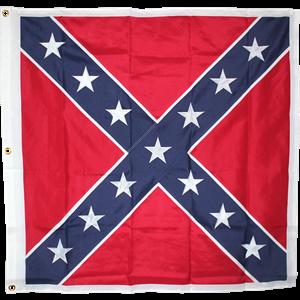 Embroidered Stars Battle Flag Dl Grandeurs Confederate