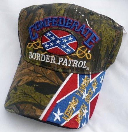 Confederate Border Patrol Hat Dl Grandeurs Confederate