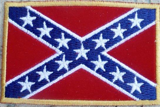 Confederate Rebel Flag Patch Dl Grandeurs Confederate