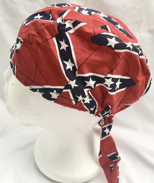 All Over Rebel Flag Do Rag Dl Grandeurs Confederate