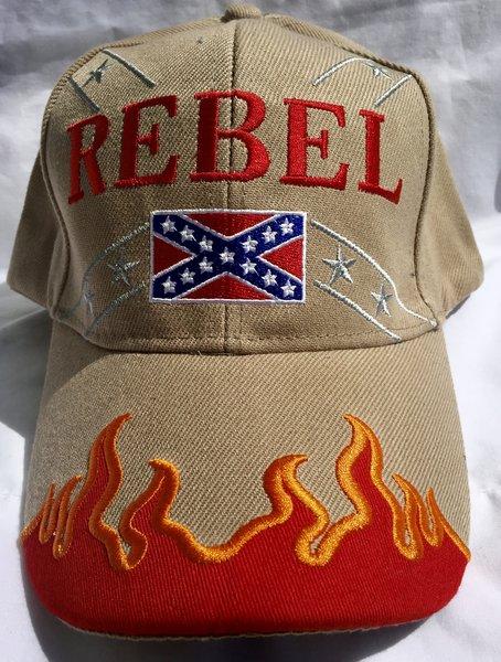 Rebel cap in 6 different colors dl grandeurs confederate