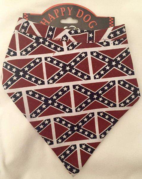 Rebel Flag Dog Bandanna Dl Grandeurs Confederate Amp Rebel