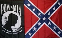 Confederate Rebel Pow Mia You Are Not Forgotten 3 X 5