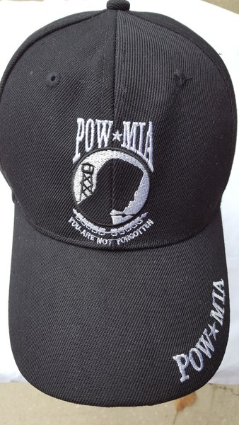 Pow Mia Embroidered Hat In 3 Colors Dl Grandeurs