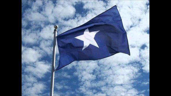 Embroidered Bonnie Blue Flag Dl Grandeurs Confederate
