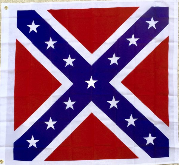 Square Confederate Battle Flag Dl Grandeurs Confederate