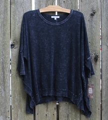 Jess & Jane Mineral Wash Dolman Top