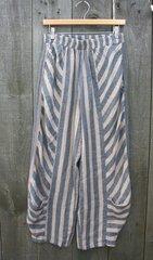 Luukaa Linen Stripe Pant -- LAST ONE!