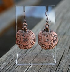 Volare Copper Earrings