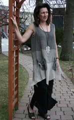 Luukaa Linen Sleeveless Top