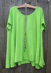 Made in Italy Linen Top -- last one!!