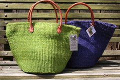 Solid Sisal Bag - Large