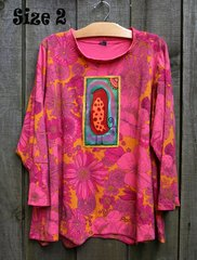 Coral Garden Top -- MORE SIZES