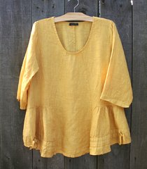 Made in Italy Linen Blouse