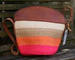 Colorful Woven Sisal Bag