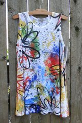 Jess & Jane Scribble Tank Tunic