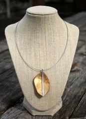 Origins Leaf Necklace